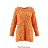 Modèle pullover 28 catalogue FAM 264 LANG YARNS