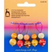 Anneaux marqueurs perles en boisPony