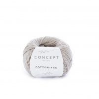 Fil Cotton Yak de Katia