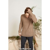 Modèle pullover homme 44 catalogue FAM 265 LANG YARNS