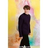 Modèle pullover homme 4 Punto 21 LONDONLANG YARNS