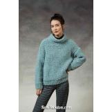 Kit tricot pullover ANOUK-990-196LANG YARNS