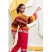 Modèle gilet 8 catalogue FAM 267Lang Yarns