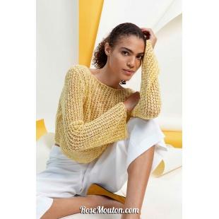 Modèle pullover 11 catalogue FAM 267Lang Yarns