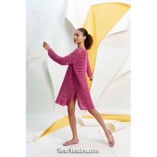 Modèle robe 13 catalogue FAM 267Lang Yarns