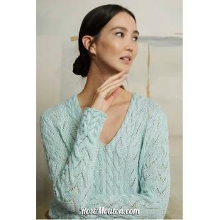 Modèle pullover 26 catalogue FAM 267Lang Yarns