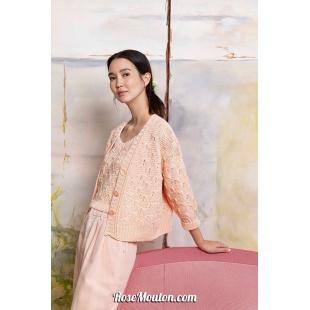 Modèle gilet 31 catalogue FAM 267Lang Yarns