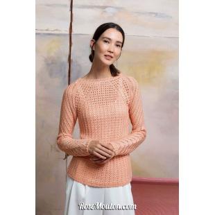 Modèle pullover 32 catalogue FAM 267Lang Yarns