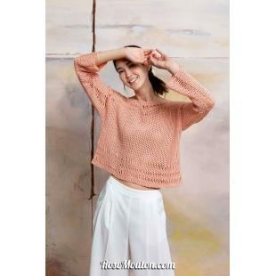 Modèle pullover 33 catalogue FAM 267Lang Yarns