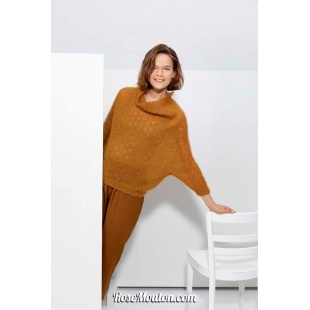 Modèle pullover 55 catalogue FAM 267Lang Yarns