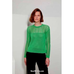 Modèle pullover 43 catalogue FAM 267Lang Yarns