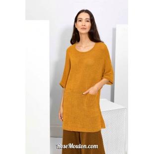 Modèle pullover 56 catalogue FAM 267Lang Yarns