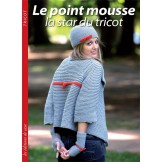 Le point mousse - La Star du Tricot EDITIONS DE SAXE