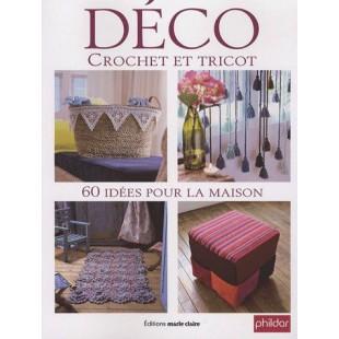 Déco crochet et tricot - 60 idées pour la maison Editions de Saxe