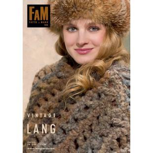 LANG YARNS Vintage FAM 184 (anglais / allemand)Lang Yarns