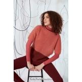 Modèle pullover 12 catalogue FAM 269LANG YARNS