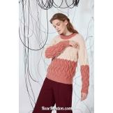 Modèle pullover 10 catalogue FAM 269LANG YARNS