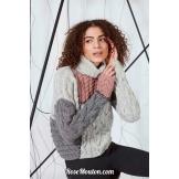 Modèle pullover 6 catalogue FAM 269LANG YARNS