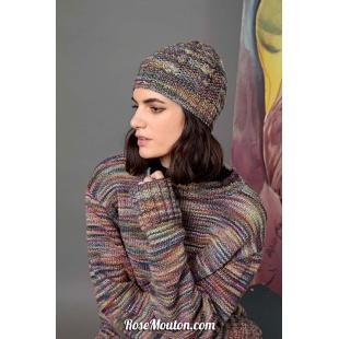 Modèle bonnet 8 Punto 29 LEOLang Yarns