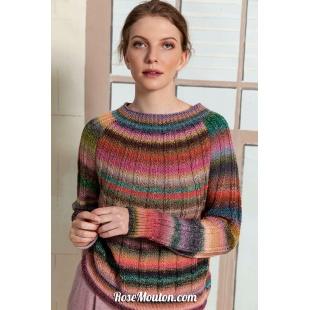 Modèle pullover 5 Punto 30 FRIDALang Yarns