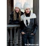 Modèle bonnet 20 catalogue 217LANG YARNS