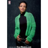 Modèle veste 22 catalogue 216 LANG YARNS
