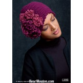 Modèle bonnet 32 catalogue 216 LANG YARNS