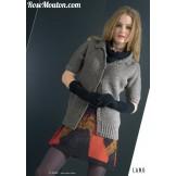 Modèle veste mc 8 catalogue 177LANG YARNS