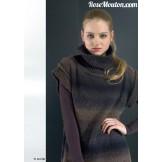 Modèle pullover 22 catalogue 177LANG YARNS