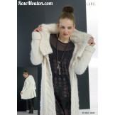 Modèle veste longue 24 catalogue 177LANG YARNS