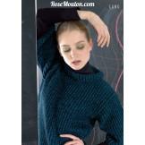 Modèle pullover 48 catalogue 177LANG YARNS