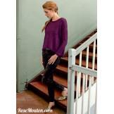 Modèle pullover 1 catalogue 220LANG YARNS
