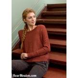 Modèle pullover 3 catalogue 220LANG YARNS