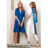 Modèle robe cache-coeur 37 catalogue 218
