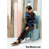 Modèle pullover raglan 39 catalogue 218