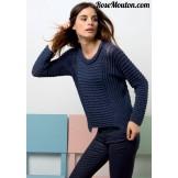 Modèle pullover 44 catalogue 218