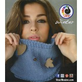 Modèle de snood en laine Winter