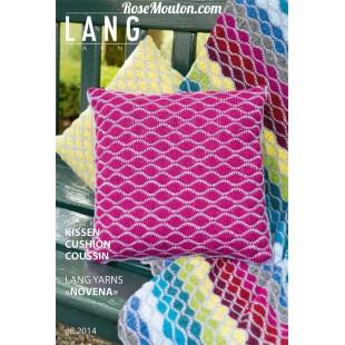 Modèle de coussin en laine NovenaLang Yarns