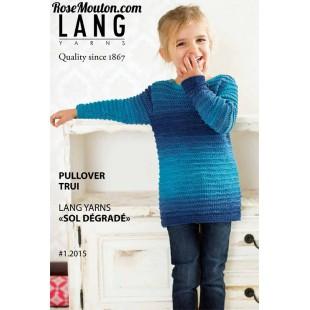 Modèle pullover enfant en Sol DégradéLang Yarns