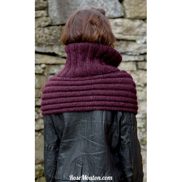 modele echarpe snood
