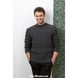 Modèle Pullover homme 52 catalogue 236 LANG YARNS