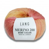 Laine Merino 200 Bébé Color LANG YARNS