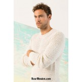 Modèle pullover homme 17 catalogue 242 LANG YARNS