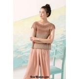 Modèle pullover 26 catalogue FAM 242