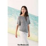 Modèle pullover 27 catalogue FAM 242