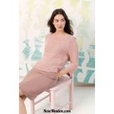Modèle pullover 39 catalogue FAM 242
