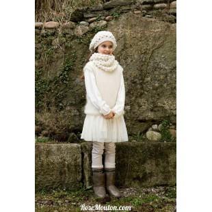 Modèle bonnet 9 catalogue FAM 222Lang Yarns