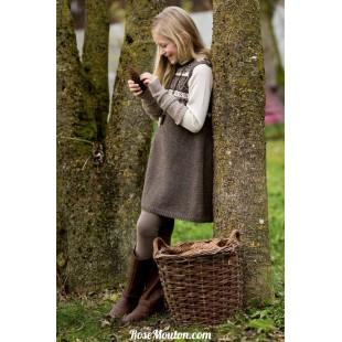 Modèle robe 11 catalogue FAM 222Lang Yarns