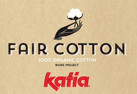 Fair Cotton de Katia - Coton 100% bio équitable